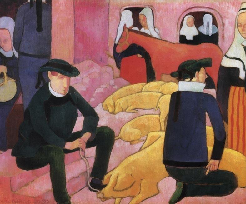 Bernard emile porkopolis for Bernard peintre
