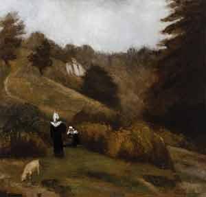 Émile Bernard - La lande à Pont Aven